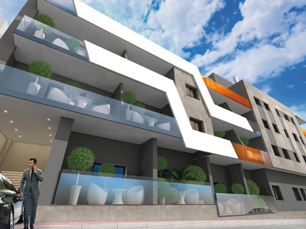 Torrevieja 2 bed Key Ready south facing penthouse apartment for sale