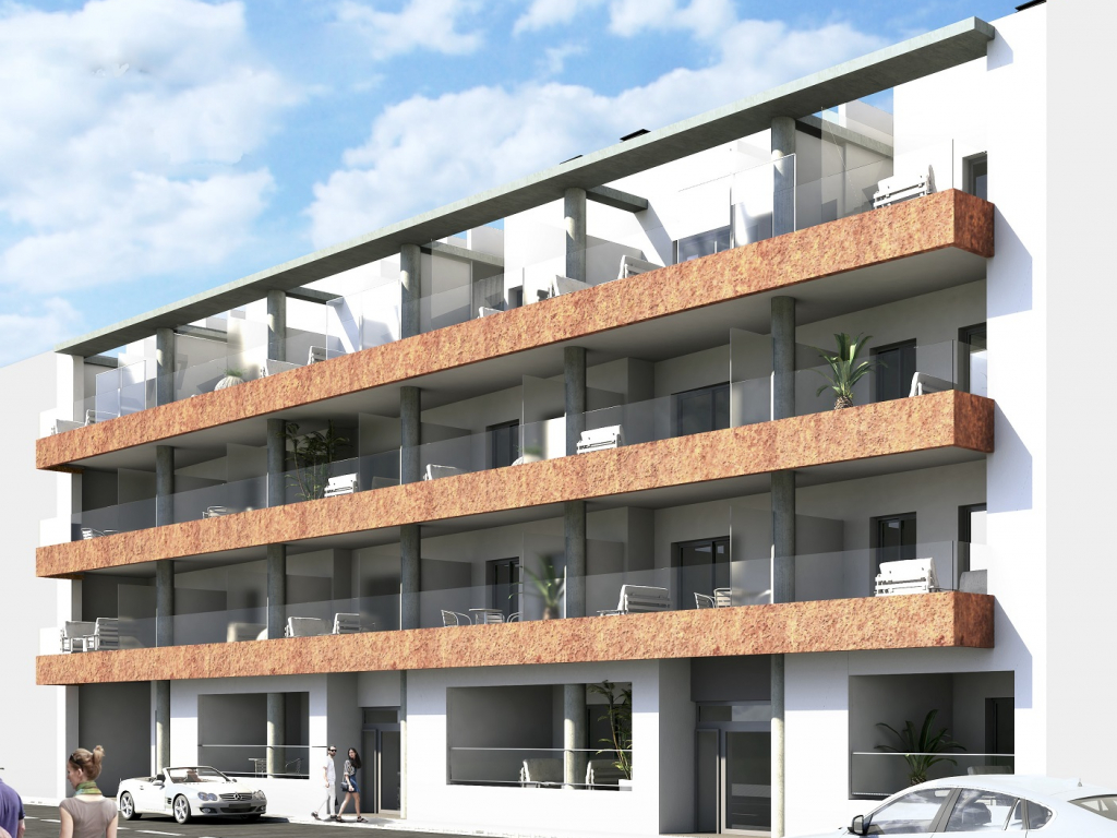 Torrevieja 3 bed 2 bath south facing apartment under construction