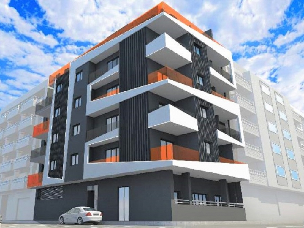 New Build 1 bed 1 bath south facing apartment in Torrevieja