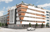 LMCN19627, Torrevieja New Build 1 bed 1 bath apartment for sale on the 1st floor