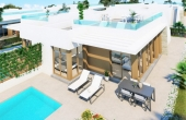 LMCN6187, New Build 3 bed 2 bath Villa in Vistabella Golf Resort on plot of 435m2